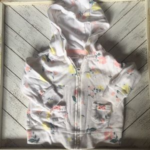 Other - Baby floral hooded sweatshirt